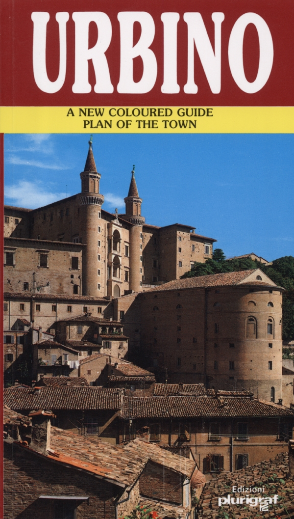 Urbino. A new coloured guide plan of town