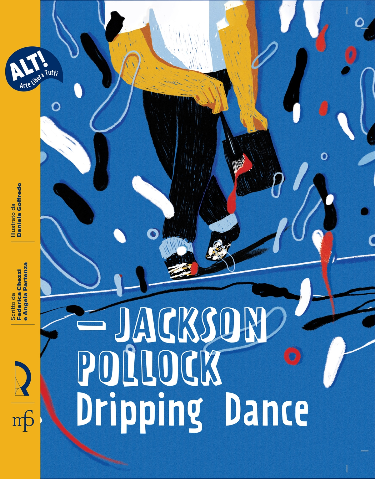 Jackson Pollock dripping dance