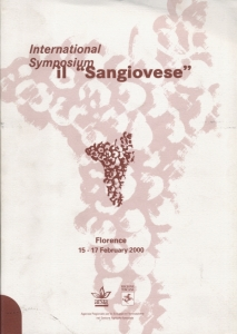 Il Sangiovese. International symposium