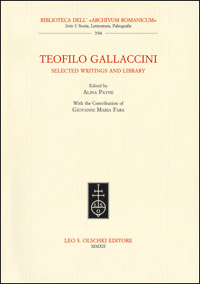 Teofilo Gallaccini Selected writings and library
