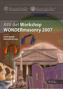 Wondermasonry. Workshop on design for rehabilitation of masonry structures